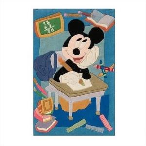 Χειροποίητο Χαλί Disney Mickey Mouse at School (69x108cm) DH024