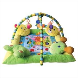 Γυμναστήριο Playmat with 4 Pillows Lorelli Bertoni (ΔΩΡΟ Μασητικό Οδοντοφυΐας)