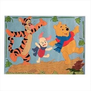 Χειροποίητο Χαλί Disney Winnie & Friends (115x168cm) DH026