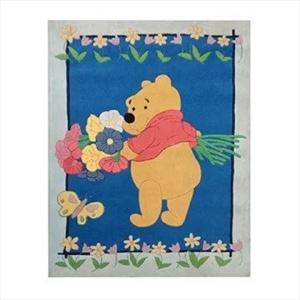 Χειροποίητο Χαλί Disney Winnie The Pooh Flowers (137x197cm) DH030