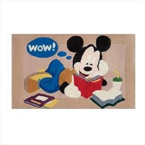 Χειροποίητο Χαλί Disney Mickey Mouse Reading (80x140cm) DH008