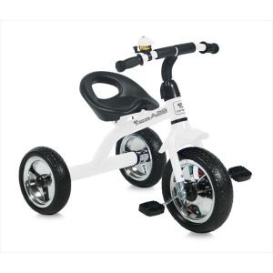 Τρίκυκλο ποδήλατο A28 White and Black Lorelli Bertoni