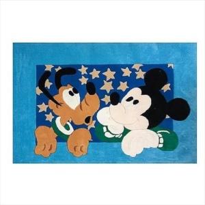 Χειροποίητο Χαλί Disney Mickey Mouse & Pluto (115x168cm) DH028
