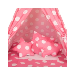 Παιδική Σκηνή Teepee Pink Dots Baby Adventure