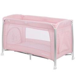 Παρκοκρέβατο Dessine moi 2 Layers με αλλαξιέρα και παιχνίδι Pink Kikkaboo (ΔΩΡΟ Μασητικό Οδοντοφυΐας)
