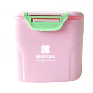 Δοχείο Αποθήκευσης Σκόνης Γάλακτος με Κουτάλι 160g Pink Kikkaboo