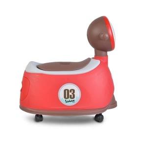 Γιογιό MINI Vespa 2 σε 1 με Κάθισμα και Καπάκι Cangaroo Red